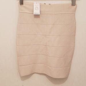 Bebe stretch bandage  skirt